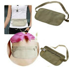 Travel Pouch Hidden Passport ID Holder Compact Security Money Waist Belt Bag NEW