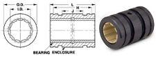 """SDP/SI S99GLP-075124162 Closed Linear Plastic Bearing 0.75"""" Bore"""