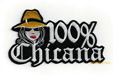 100% CHICANA HAT VEST PATCH CHOLA MEXICAN PIN UP QUILT GIFT  La Raza Homies ART