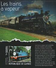 STEAM TRAIN THOMAS THE TANK ENGINE IMPERFORATED 2014 MNH STAMP SHEETLET