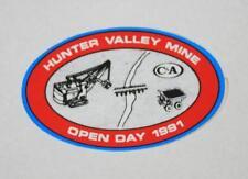 Retro Sticker - Hunter Valley Coal Mine   Open Day 1991