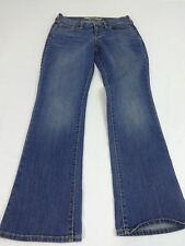 OLD NAVY THE SWEETHEART JEANS WOMENS BLUE DARK WASH COTTON BLEND SIZE 4