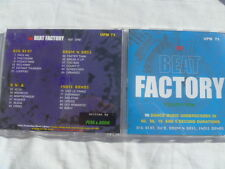 PEAK & BOOM THE BEAT FACTORY UPM RARE LIBRARY SOUNDS MUSIC CD