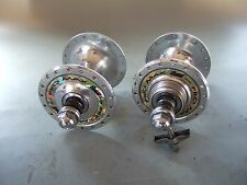 SUZUE PRO MAX NJS Track Hubs / 36H / Rear = 120mm with Chaintensioners