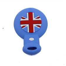 Blue Remote Key Fob Shell Silicone Cover For Mini Cooper Countryman Clubman
