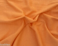 Orange Cotton Fabric Jersey Knit Eco-Friendly by the Yard (Good for Moby Wrap)