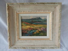 GORGEOUS ROLLING HILLS COLORFUL IMPRESSIONIST MOUNTAIN SCENE FAUVIST MUST SEE