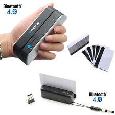 Bluetooth Skimmer Wireless Credit Card Writer Encoder Portable Reader Mini MSR