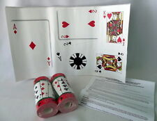 Poker Chips Cards Casino Wallpaper Border Decal Stickers Clubs Ace Spade Diamond