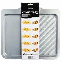 Kitchencraft Non-Stick Twin Section Baking Tray - 40 x 35cm