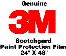 Genuine 3M Scotchgard Paint Protection Film Clear Bra Bulk Roll Film 24'' x 48""