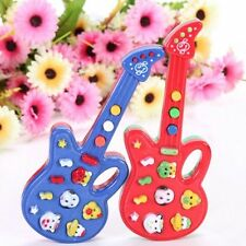 1*  Infant Toddler Baby Kids Electronic Guitar  Rhyme Developmental Music Toy