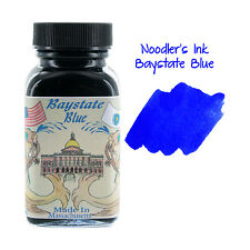 """Noodler's Ink Fountain Pen Bottled Ink, 3oz - Baystate Blue"""