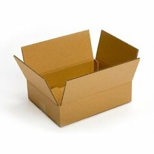 """Recycled Corrugated Cardboard Boxes 11-1/4 x 8-3/4 x 2-3/4"""" Shipping Packing 25"""