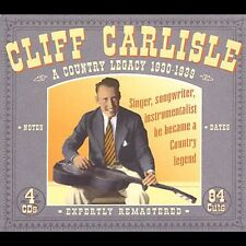Country Legacy 1930-39 - Cliff Carlisle (2004, CD NIEUW)4 DISC SET