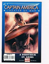 Captain America Theater Of War A Brother In Arms # 1 Marvel Comic Books!!!!! S34