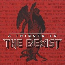 A TRIBUTE TO THE BEAST Iron Maiden (CD 2002) 16 Songs Metal OPETH ICED EARTH+