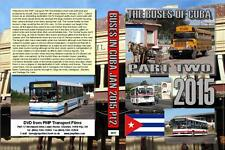 3017. Cuba. Buses. Rail. Jan 2015. Filmed from New Year onwards in Camaguey, Bay