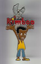RARE PINS PIN'S .. BD COMICS CARTOON KIMBOO G. GAY SERIE  TV FRANCE AFRIQUE ~DB
