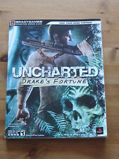 UNCHARTED DRAKE'S FORTUNE strategia Guide-Include Poster