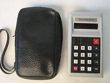 minicom m-818 calcolatrice vintage, rara!