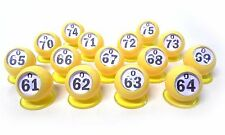 "Waiters - ""Bingo Ball"" - Set of 15 ""O"" Row (O61 - O75) (GM-3-17105)"