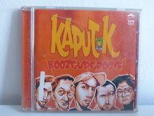 CD ALBUM KAPUT K Boozgupgroove HOT WOOD 2424