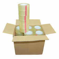 "36 Rolls 2""x110 Yards(330' ft) Clear Sealing Packing Shipping Package Tape"