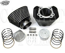 Sportster Big Bore Conversion Kit 883 to 1200 Black Cylinder 9.5:1 Pistons 04-UP