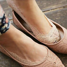 Women Sexy Lace Antiskid Invisible Liner No Show Slippers Peds Low Cut Sock