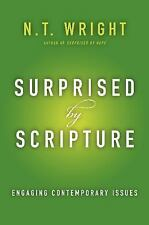 Surprised by Scripture: Engaging Contemporary Issues, Wright, N. T., New Book
