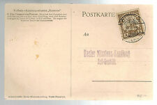 1913 Kamerun German Africa  Postcard Cover to Germany Missionary
