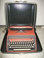 Remington Quiet Riter Eleven Manual Portable Salmon Pink Typewriter with Case