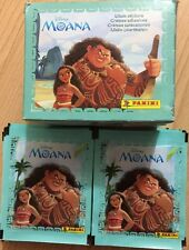Panini Disney Moana Album Stickers Full Box X 50 Packets
