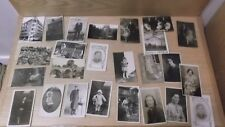 Vintage postcards 1940s onwards  photocards + locations + stamps on some