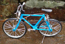 Miniature Blue Mt Bicycle 1/10 scale