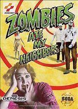 Zombies Ate My Neighbors (Sega Genesis, 1993)tested/works Complete
