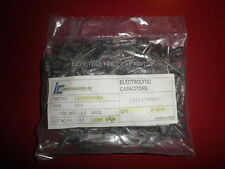 200 Pieces Illinois Capacitor Radial Electrolytic Capacitor RZM 100uF 25V