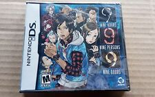 First Print Cover 9 Hours 9 People 9 Doors - BRAND NEW SEALED - Nintendo DS 999