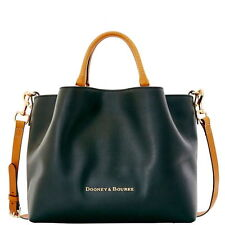 Dooney & Bourke  LARGE Barlow Leather Black Satchel Bucket New w/Tags $368