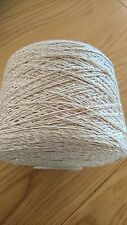 Lambs wool And Linen  NaturalMix 700 Gram Cone.Hand/machine Knit. Craft/crochet.