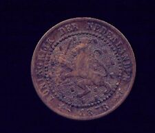 WORLD COINS NETHERLANDS 1878 1 CENT VF  (G720)