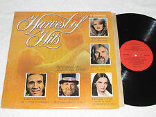 HARVEST OF HITS Country Music Compilation LP 1978 Willie Nelson Kenny Rogers+