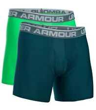 "Men's Under Armour Original 6"" BOXERJOCK Boxer Briefs 2 Pack LARGE L NWT!"