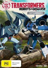 TRANSFORMERS ROBOTS IN DISGUISE : BATTLEGROUNDS -  DVD - Region 2 UK Compatible
