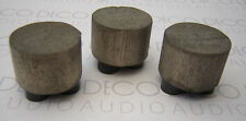 Something Solid Dissipating feet, large size. Set of 3. Inc. 1st Post. DECO