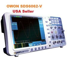 "Owon SDS6062-V 60 MHz 2 Ch 8"" LCD  Memory Digital Storage Oscilloscope+ SVGA+BAG"