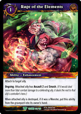 ~ WOW TCG RAGE OF THE ELEMENTS PROMO FOIL MINT INGLESE