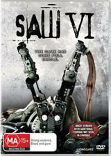 SAW VI 6 UNCUT : NEW DVD
