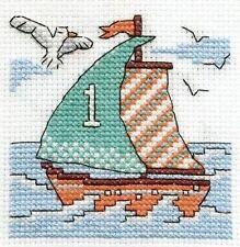 Un barco de vela Cross Stitch Kit-Make a Wish-dmc
